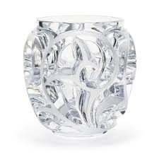 Lalique Tourbillons Vase SS Clear - china-cabinet.com