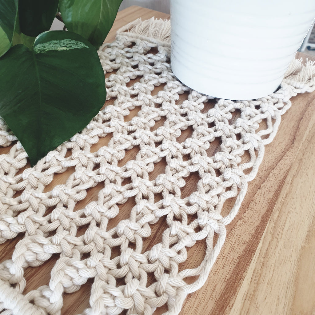 Macrame Table Mat Workshop - Friday 14th May