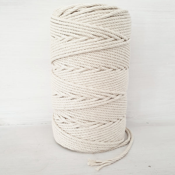 Natural Cotton Rope 4mm LOCAL PICK UP ONLY