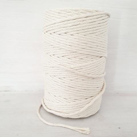 Natural Cotton String 4mm LOCAL PICK UP ONLY