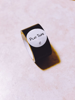 Play Tape - Black