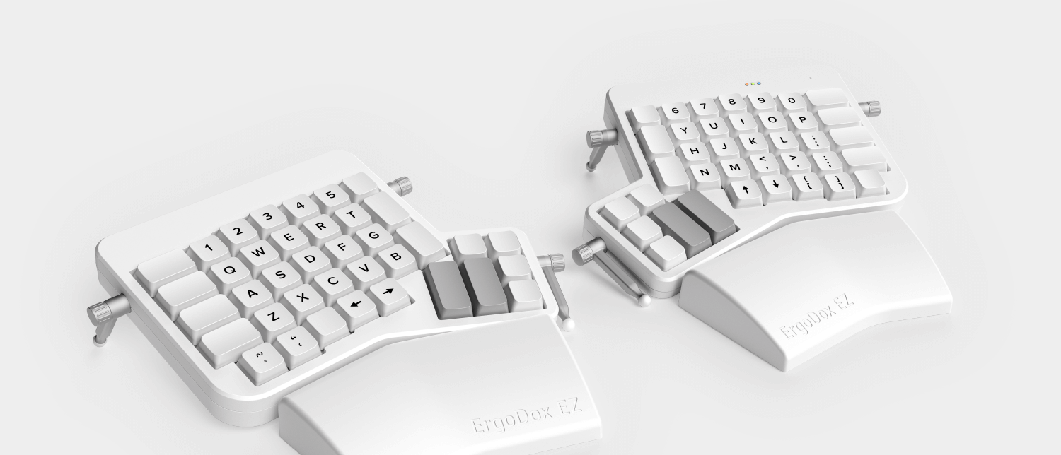 The Latest Ergo Dox Keyboard Iteration