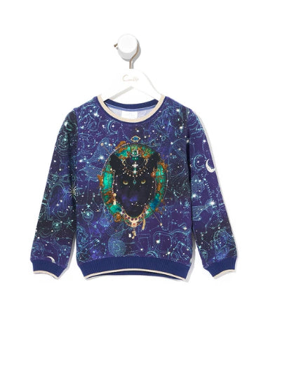CAMILLA KIDS SWEATER STARGAZERS DAUGHTER