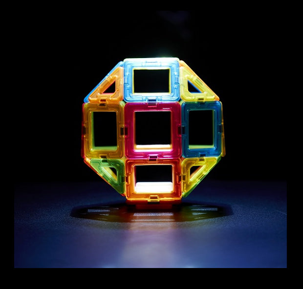 MAGFORMERS Neon LED Set-31pcs