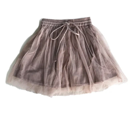 BELLA + LACE -HARRY SKIRT - MUSHROOM