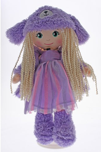 COTTON CANDY -Doll Purple Dress- LILY Bear