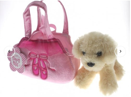 COTTON CANDY -Lab in Pink Ballet Shoes Bag