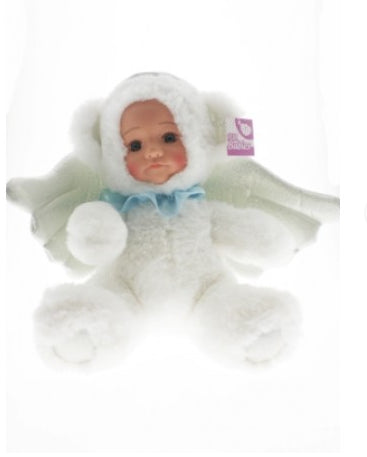COTTON CANDY Fur Baby 25cm -WISH Angel- White Bear