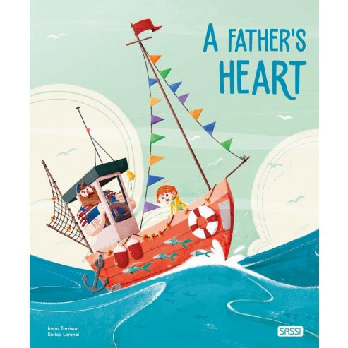 Sassi Books - Story and Picture Book - A Father's Heart