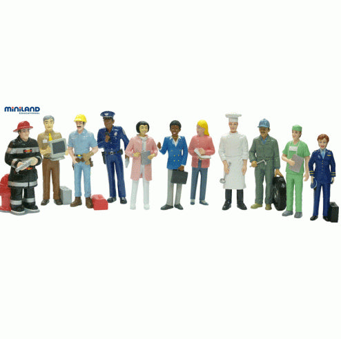 Miniland Figures - Professional, 11 pieces
