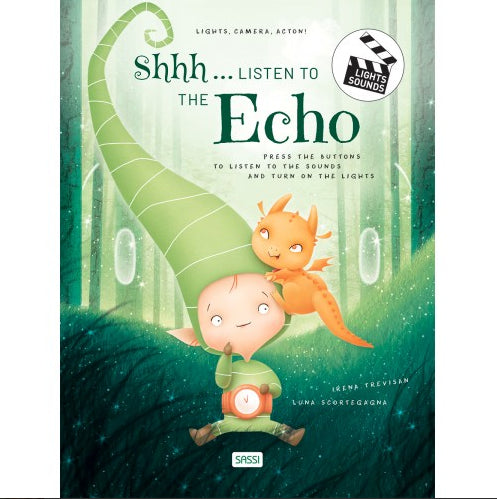 Sassi Books - Sound Book plus Lights, Camera, Action - Shh..... Listen to the Echo