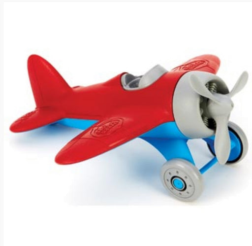 GREEN TOYS AIRPLANE -RED