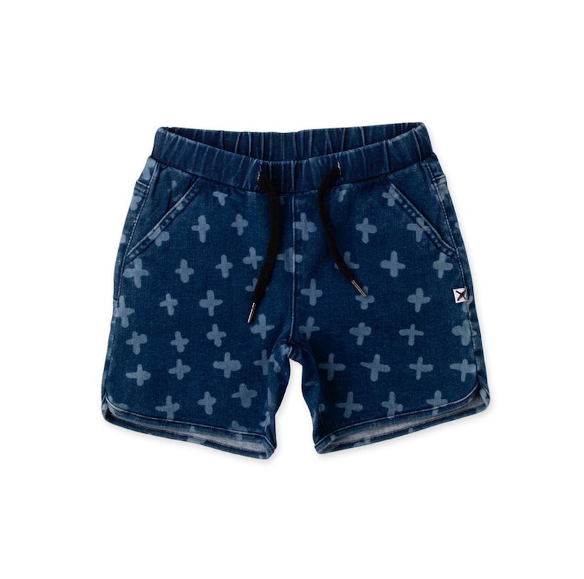 MINTI BONUS DENIM SHORT -DARK BLUE
