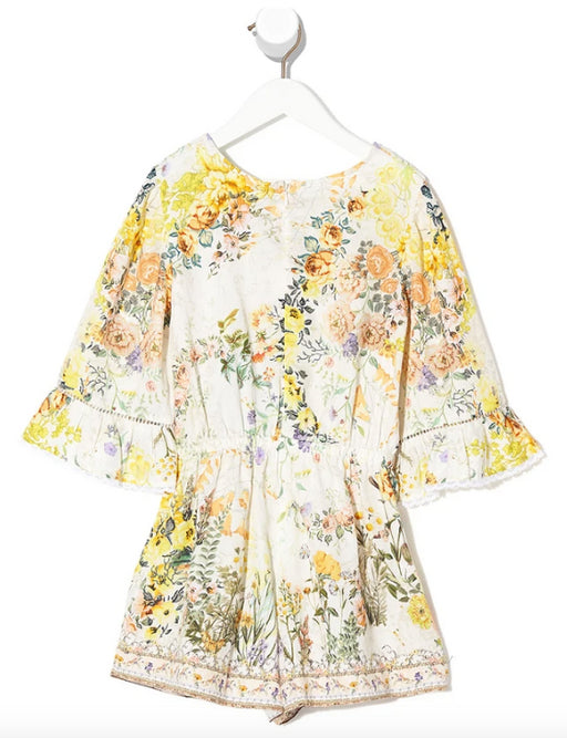 CAMILLA KIDS PLAYSUIT WITH TRIM IN THE HILLS OF TUSCANY