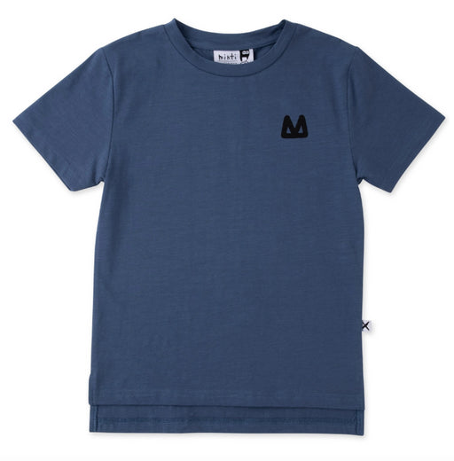 MINTI SUMMER SPLIT TEE-MIDNIGHT