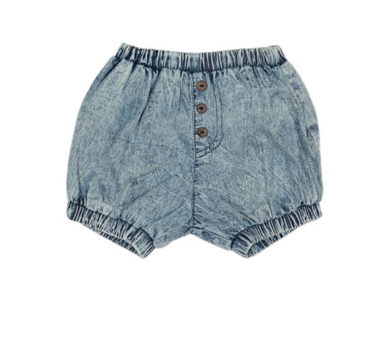 CHILDREN OF THE TRIBE Chambray Shorties Baby