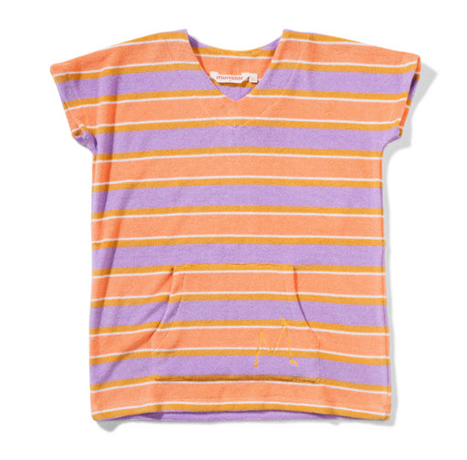 MUNSTER KIDS POOLSIDE DRESS -TERRY STRIPE