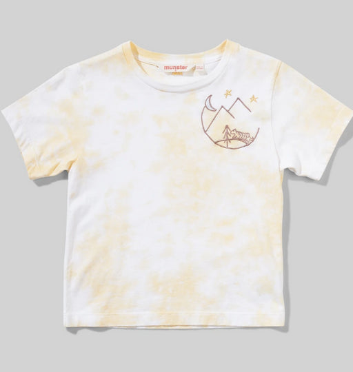 MUNSTER KIDS  Neve Tee - Lemon Tie Dye