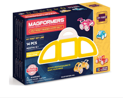 Magformers My First Buggy Car Set / YELLOW 14PCS