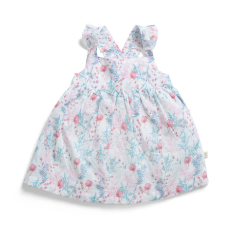 TINY TWIG SUN DRESS WITH BLOOMER -WILDFLOWERS