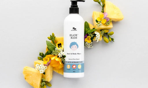 NO NASTIES PLANT BASED HAIR AND BODY WASH IN MANGO AND PINEAPPLE | 400ML