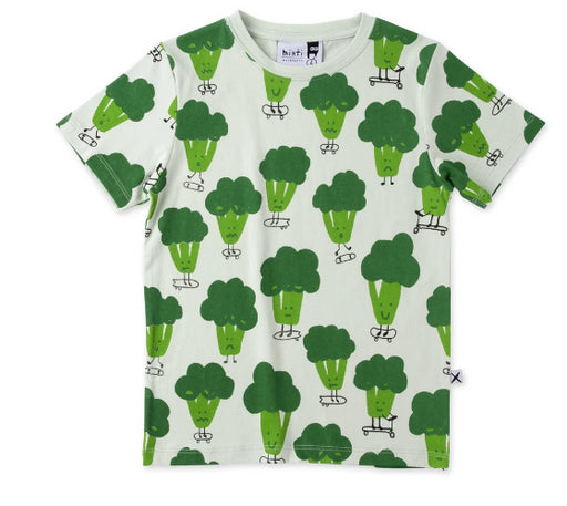 MINTI SPORTY BROCCOLI T-SHIRT - MINT