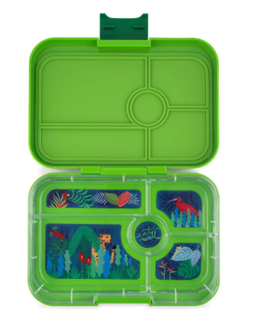 YUMBOX TAPAS 5/ COMPARTMENT / GO GREEN