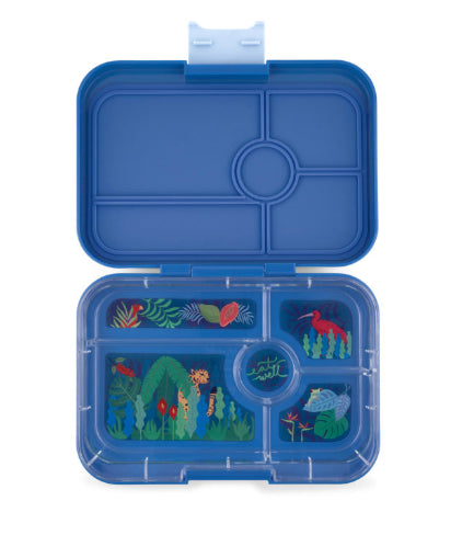 YUMBOX TAPAS 5/COMPARTMENT LUNCH BOX /TRUE BLUE