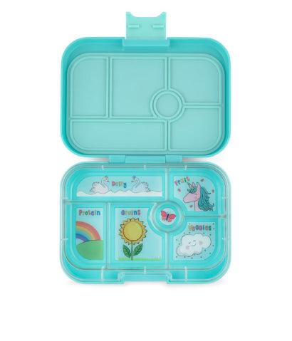 YUMBOX ORIGINAL - MISTY AQUA-6 COMPARTMENT