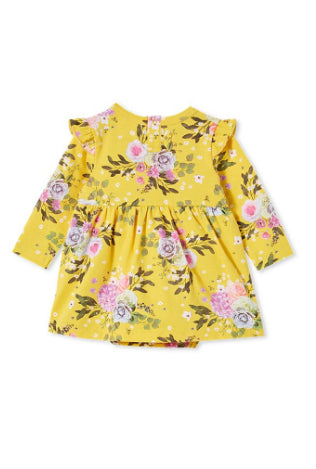MILKY VINTAGE BABY DRESS-MIMOSA