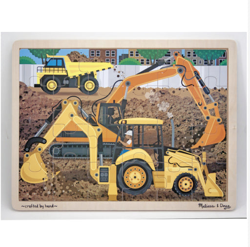 Melissa and Doug Construction jigsaw 24 pieces