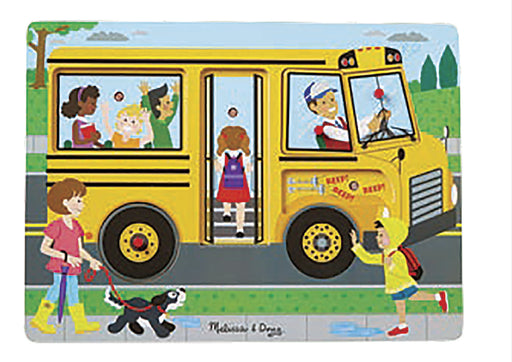 melissa and doug wheels on the bus sound puzzle