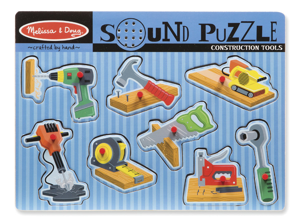 Melissa and Doug Tools Sound Puzzle
