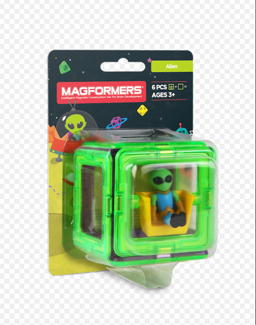 Magformers Figure Set /  Alien