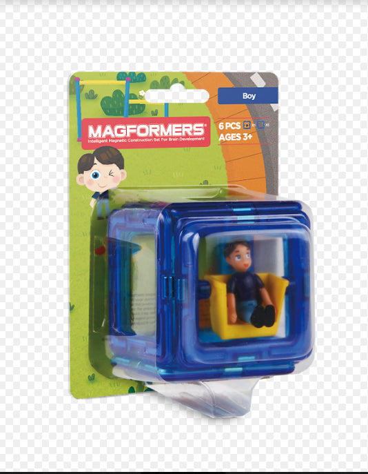 Magformers Figure Set  / Boy BLUE