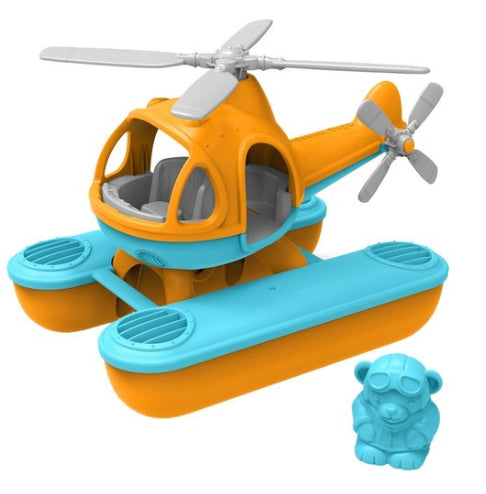 Green Toys Sea Copter Orange