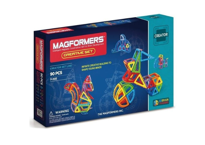 magformers creative set 90 pcs 3+