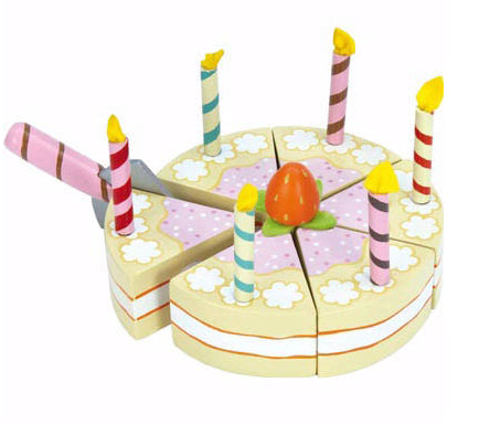 Le Toy Van Vanilla  Birthday Cake