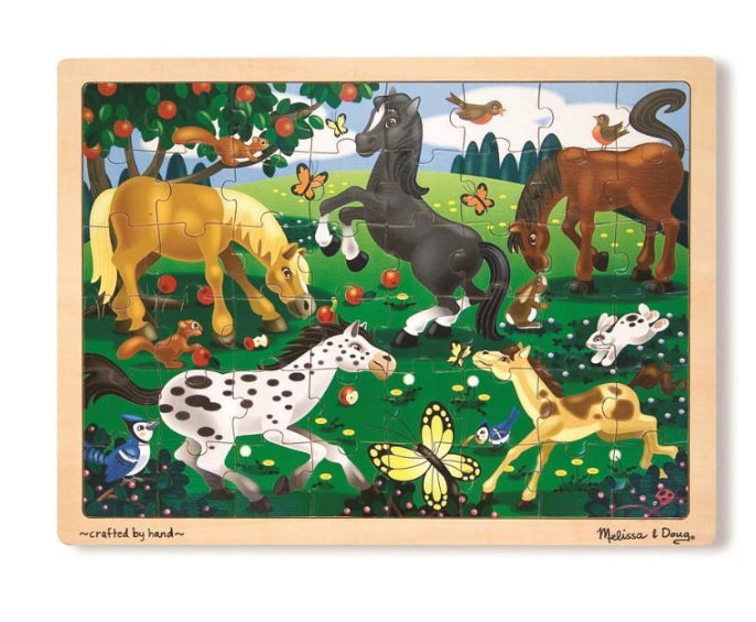 Frolicking Horses Jigsaw