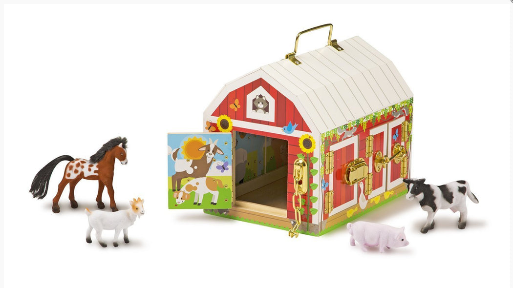 Latches Barn with Animals