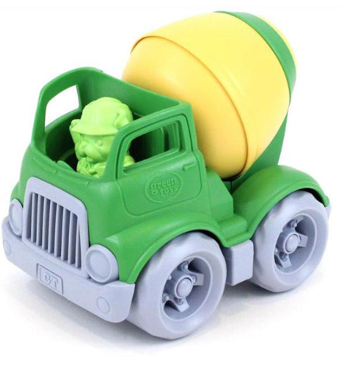 Green toys Construction Mixer with worker