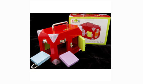 Mamagenius lock Activity Box Red