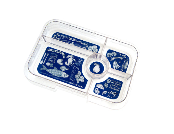 Tapas Interchangeable Tray Bon Appetit- 5 Compartment