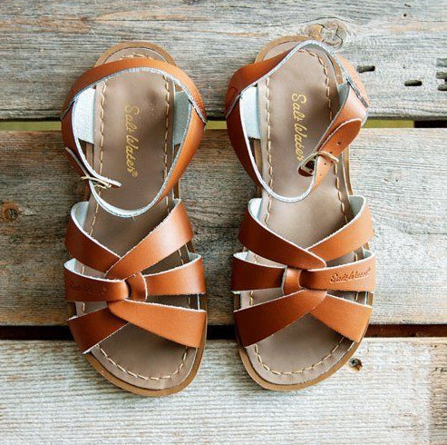 Original Salt water  Sandals Tan