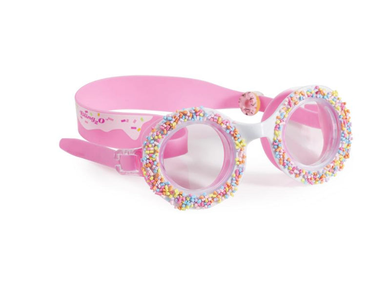 "Bling 20 Do-Nuts"" Swim Goggles -Boston Creme Pink"