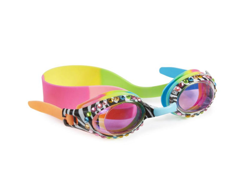 Bling 20 Zebra Crossing Swim Goggles
