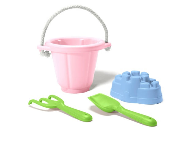 Green Toys Sand Play Set/ Pink