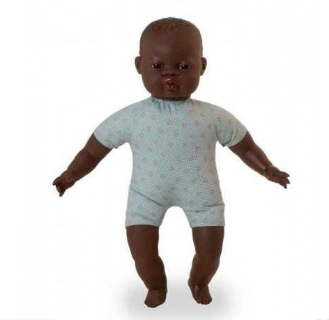 Miniland African Soft Bodied Doll 40 cm