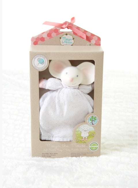 Meiya The Mouse Soft Toy / Rattle