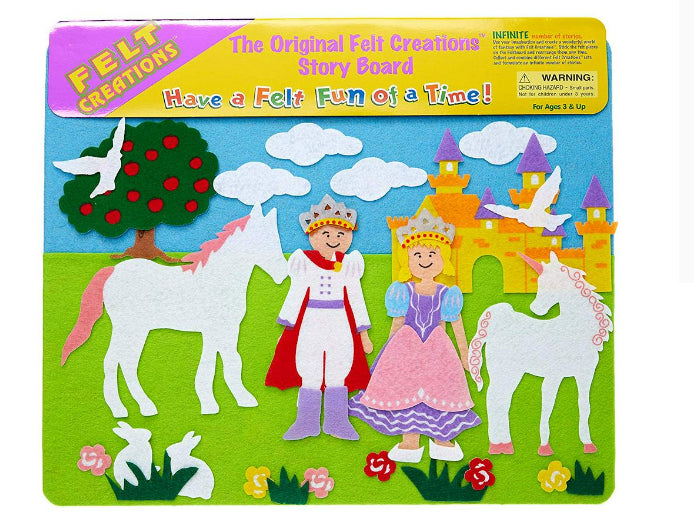 Melissa And Doug Felt Creations Story Boards/Princess Castle